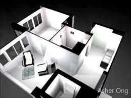 Studio Apartment Floor Plans 2 Room Hdb Flat 2 Room Studio Apartment 2sa Model Floor Plan