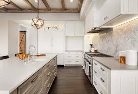 light wood tone kitchen cabinets two tone kitchen cabinets to inspire your next redesign