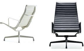 Replica Vitra Chairs White Eames Lounge Chair Replica Eames Lounge Chair White Ebay