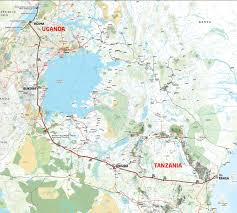 Tanzania Map Route Description U0026 Map U2013 Eacop