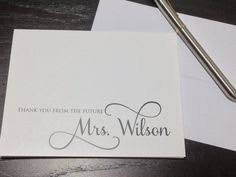 personalized notecards thank you card images gallery personalized thank you note cards