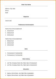 easy resume 10 easy resume layouts skills based resume
