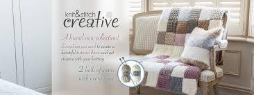 creacrafts get knitting knit u0026 stitch creative collection