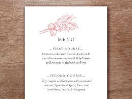 menu templates for weddings 49 best printable wedding menu templates images on