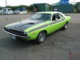 Dodge Challenger Green - 1974 dodge challenger sub lime green 1971 clone