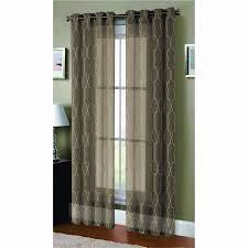 Girly Window Curtains by Window Elements Boho Embroidered Faux Linen Sheer Extra Wide 108 X