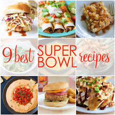 9 best super bowl recipes strawmarysmith