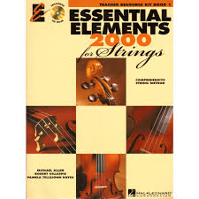 essential elements 2000 for strings book 1 teacher resource kit