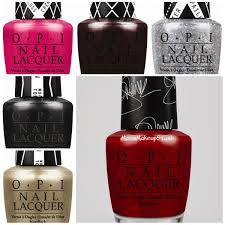 gwen stefani by opi limited edition nail polish collection photos