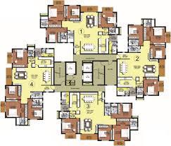cluster home floor plans cluster housing design plans