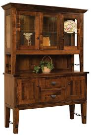 curio cabinet corneret dining room furniture amish mission style