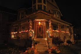 Halloween House Ideas Decorating Halloween Decorations In The Neighborhood Orange County Ny Loversiq
