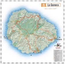 La Airport Map La Gomera Car Hire La Gomera Car Rental Canary Islands