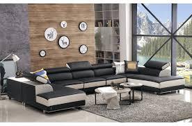 canapé d angle de luxe canape d angle 9 places canapac dangle en cuir buffle italien de