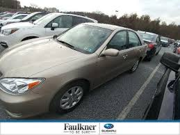 2003 toyota camry xle for sale used 2003 toyota camry xle for sale in harrisburg pa vin