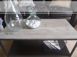 Ikea Vittsjo Coffee Table by Sl Designs Diy Box Frame Coffee Table