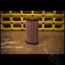k u0026n oval high flow air filter for modern triumph bonneville