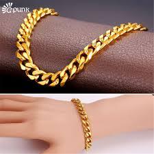 metal chain link bracelet images 9mm curb cuban link chain bracelet men heavy metal accessories jpg