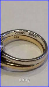 avery heart knot ring avery 14k gold sterling silver original knot ring sz
