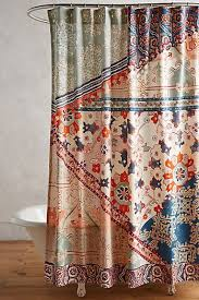 Unique Bathroom Shower Curtains Unique Boho Shower Curtains Liners Anthropologie