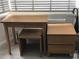 muji bureau muji oak desk in islington gumtree