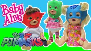 baby alive dolls dress pj masks play doh baby alive