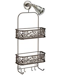 Interdesign Bathroom Accessories Interdesign Bronze Vine Shower Caddy Bathroom Accessories Bed