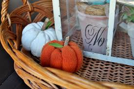 1 wool sweater 3 fall projects sweater pumpkins part ii