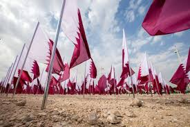 Flag Of Qatar Residents Spend Qatar National Day Weekend Outdoors