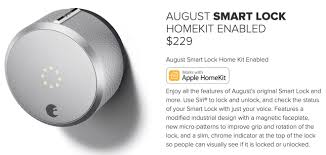 second gen august smart lock with apple homekit support now shipping