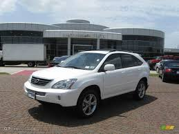 lexus rx 400h review 2006 lexus rx 400h information and photos momentcar