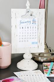 Small Desk Calendars The Craft Patch Free Printable Calendar 2018 Roundup