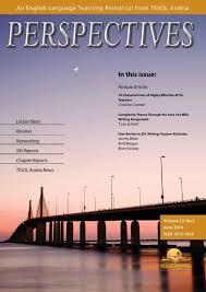 jun 2014 by tesol arabia perspectives issuu