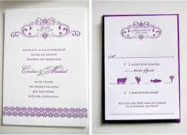 purple and gold wedding invitations purple gold wedding invitations