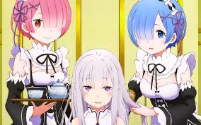 subaru and emilia married 895 rem re zero hd wallpapers backgrounds wallpaper abyss