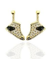 post type earrings gold nefertiti earrings earrings nefertiti bust earrings