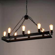 industrial style lighting chandelier real candle chandelier lighting 8 light wrought iron industrial