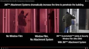 3m security window films ultra s800 the importance of attachment