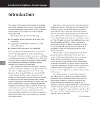 introduction to english as a second language teacher u0027s book