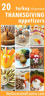 20 turkey themed thanksgiving appetizers roundup