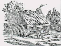 log cabin drawings log cabin woods drawing home building plans 49789