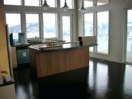 Modern Concrete Home Plans Painted Concrete Floor Designs In Modern Kitchen Http
