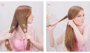tutorial mengikat rambut kepang tutorial gaya rambut kepang ekor ikan