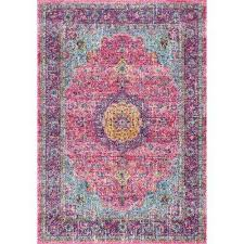 Pink Area Rug 5x8 Pink Area Rugs Rugs The Home Depot