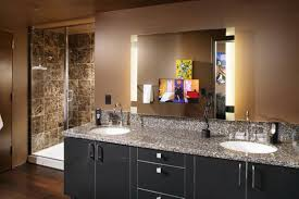 Replacing Bathroom Vanity by Bathroom Cabinets Light Mirror Lighted Bathroom Wall Mirror