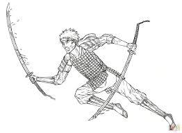 naruto from manga gintama coloring page free printable coloring