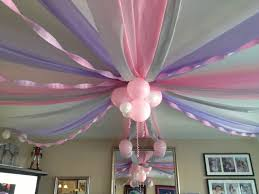 1st Birthday Party Ideas Decoration Baby U0027s First Birthday Ceiling Decorations Cut Plastic Table