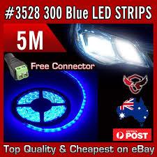 blue led strip lights 12v bigeagle toolboxes waterproof 12v cool blue 5m 3528 smd 300 led