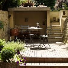 Small Pebble Garden Ideas Garden Decking Ideas To Inspire You