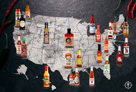 Mcdonalds In America Map by Regional Sauces Sauce Map Thrillist